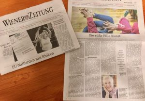 Arts for Health Austria in der Wiener Zeitung