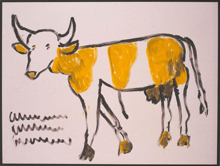 """Franz Kamlander """"Kuh"""" (1995)  Foto © Art Brut KG"""